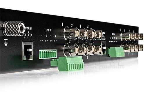 8-kanałowy aktywny odbiornik sygnału wizyjnego AT-UTP108AR