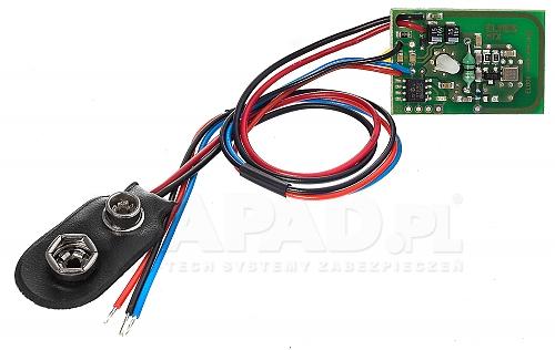 MTX/2 - Miniaturowy dwukanałowy nadajnik