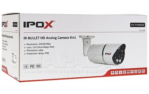IPOX PX-TVH2030 z oświetlaczem 7x Piranha + 2 Array