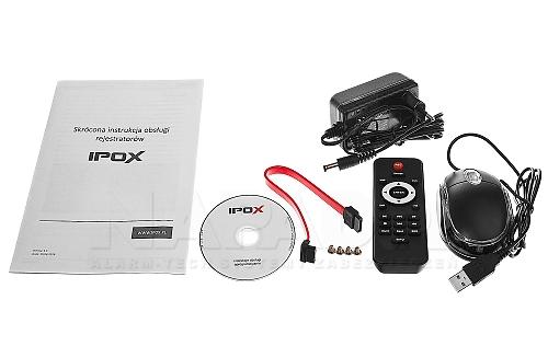 IPOX HDR0821H-E - rejestrator do obsługi AHD / CVI / TVI / CVBS i IP