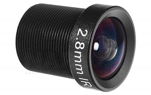 Obiektyw megapikselowy mini 2.8mm - głowne