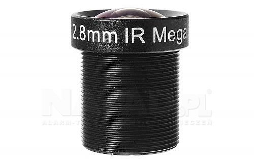 Obiektyw megapikselowy mini 2.8mm - bok