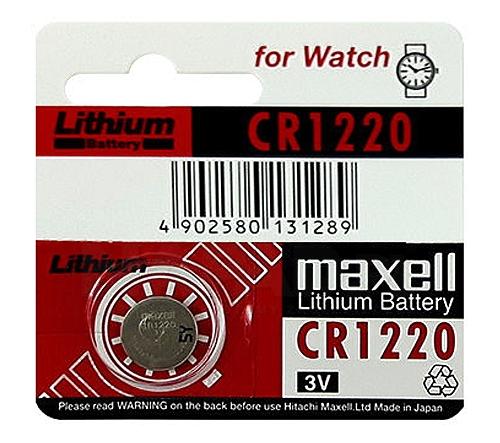 Bateria litowa 3V CR1220 MAXELL