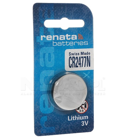 Bateria litowa CR2477N RENATA