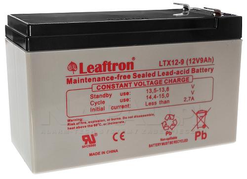 Akumulator Leaftron LTX12-9 T2 (12V 9Ah)