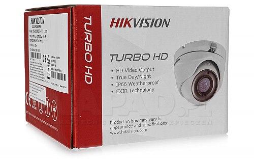 DS-2CE56D8TITM - kamera z obiektywem 2.8 mm i oświetlaczem EXIR 2.0