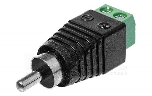 Złącze sygnałowe RCA - terminal szybkozłącz