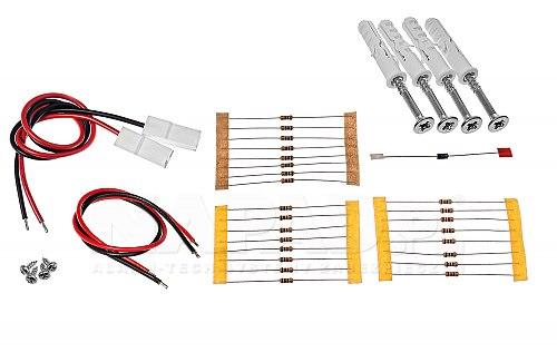 Akcesoria zestawu kontroli dostępu MC16-PAC-2-KIT