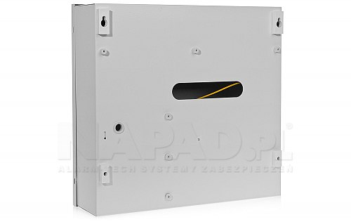 Tył obudowy zestawu kontroli dostępu MC16 PAC KIT Roger