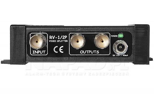 Rozgałęźnik wideo RV-1/2P