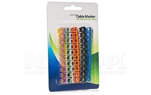 OZN-46-10K Zestaw oznaczników kabli 4-6mm