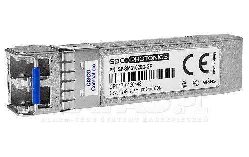 SF-SM31020D-GP to optyczny moduł SFP SM