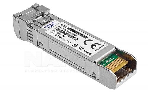 Moduł jednomodowy SFP+ LR 1310nm LC DDM SMF 10km (Cisco & Others)