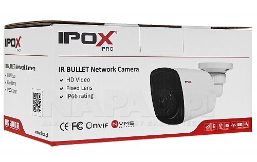 Kamera tubowa IPOX z oświetlaczem Black Glass