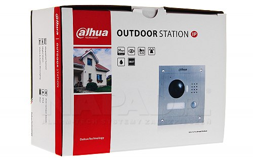 Opakowanie kamery IP Dahua VTO-2000A