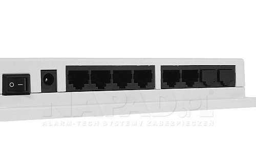 Switch PoE Dahua do wideodomofonu VTNS -1060A