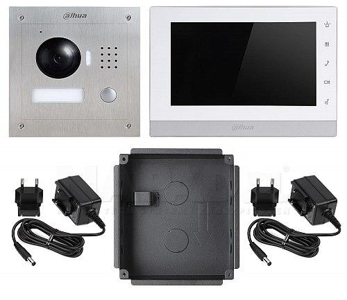 Zestaw wideodomofonowy IP VTK-VTO2000A-VTH1550CH (F)