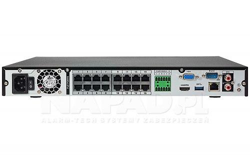Rejestrator sieciowy sieciowy DHINVR4216-16P-4KS2 Dahua