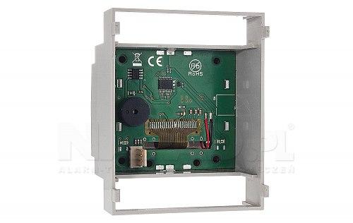 Panel LCD-HMI w obudowie na szynę DIN
