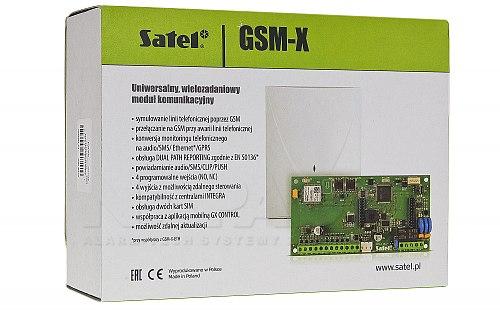 Opakowanie modułu SATEL GSM-X