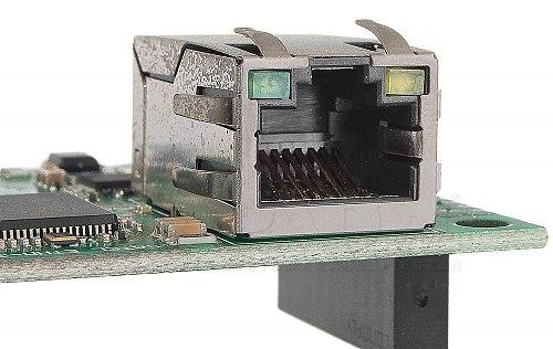 Wejście Ethernet do modułu GSM-X