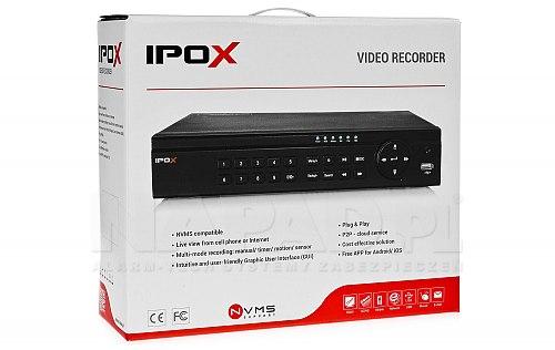 8-kanałowy rejestrator IP do monitoringu PXNVR0851HP8