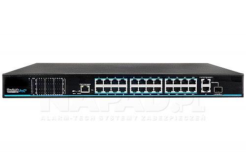 Switch PoE IPOX PX SW24-TP420-U3G