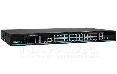 Switch 24-portowy IPOX PX-SW24-TP420-U3G