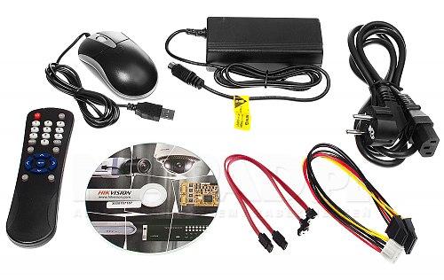 DS7208HQHIK2A - rejestrator TVI z we/wy alarmowymi