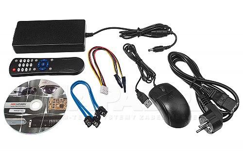 DS7208HQHIK2P - rejestrator TVI z zasilaniem kamer PoC