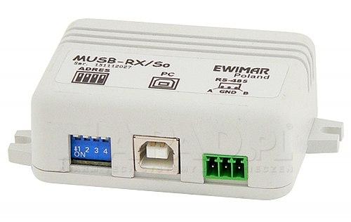 Przedłużacz myszy USB MUSB-RX/So