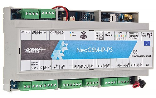 Centrala alarmowa NeoGSM-IP-PS-D9M