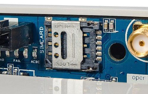 Centrala alarmowa z GSM i automatyką budynkową