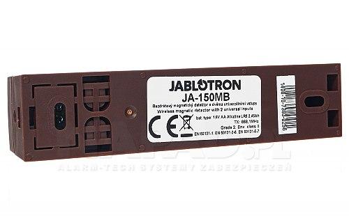Bezprzewodowa czujka otwarcia z funkcją transmitera JA150MB