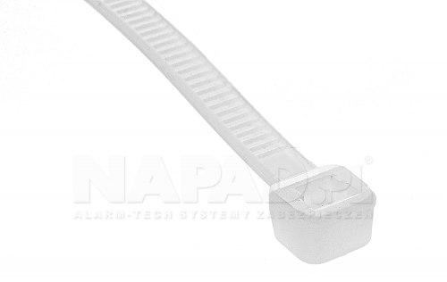 Opaska zaciskowa 3.6 x 140 (100szt.) biała