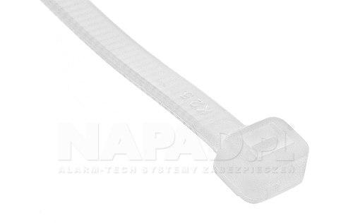 Opaska zaciskowa 3.6 x 140 biała