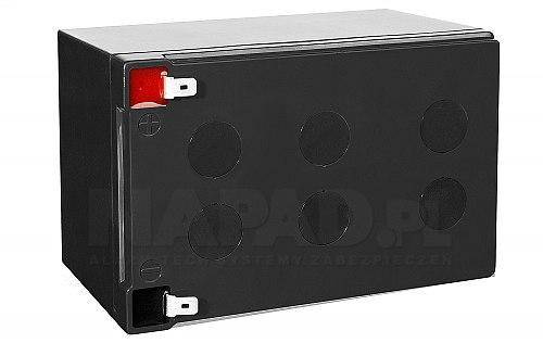 Akumulator CSB 12Ah/12V GP12120 - kadr z góry