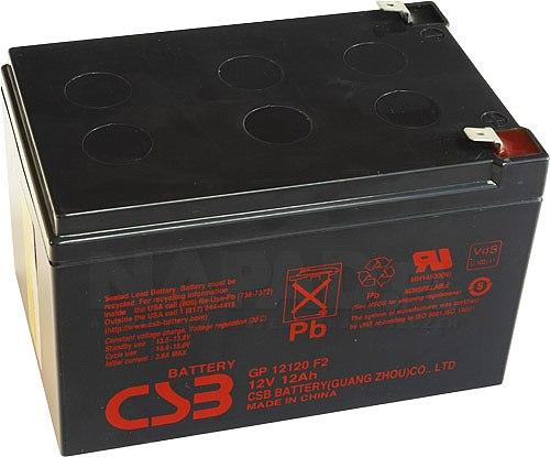 Akumulator CSB 12Ah/12V GP12120