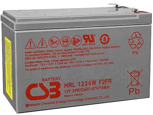 Akumulator CSB 9Ah/12V HRL1234W