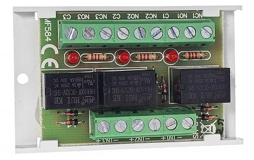 Moduł przekaźnikowy PU3 AWZ528