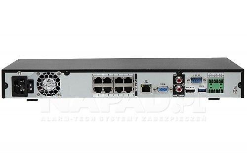 Rejestrator IP Dahua NVR5208-8P-4KS2