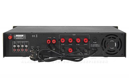 Wzmacniacz radiowęzłowy HQM1080BT 80W