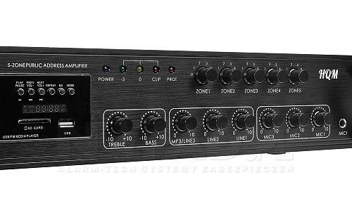 Wzmacniacz radiowęzłowy HQM1150BT 150W