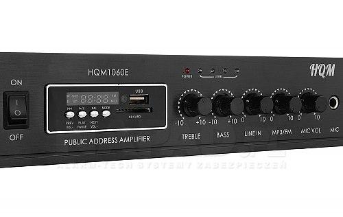 Wzmacniacz radiowęzłowy HQM1060E 60W