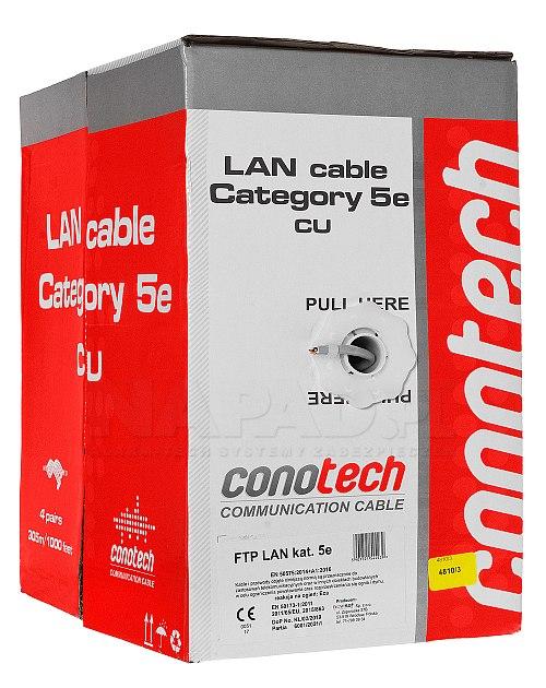 Kabel FTP cat.5e Conotech
