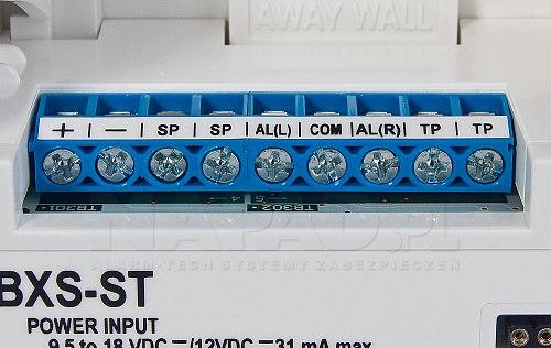 Detektor kurtynowy Optex BXS ST