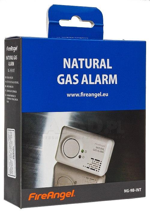 Czujnik gazu ziemnego na baterie NG-9B-INT