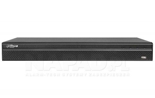 Rejestrator sieciowy Dahua DHI-NVR2208-4KS2 / DHI-NVR2208-8P-4KS2