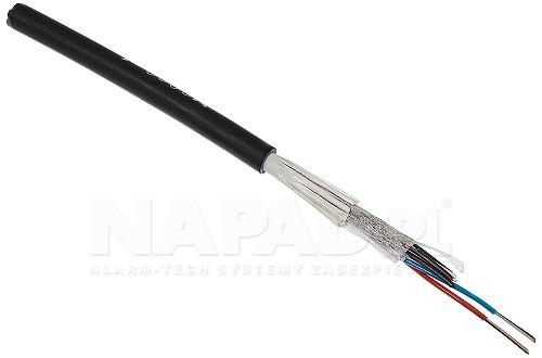 Kabel światłowodowy ZW-NOTKtsdDb SM 24J HFFR
