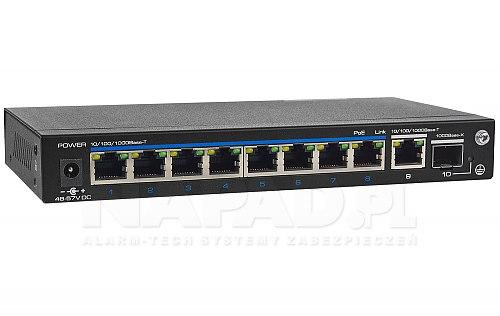 Gigabitowy switch 8-portowy IPOX PX-SW8G-SP120-U2G